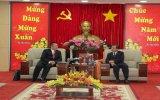 Ông Trần Văn Nam, Chủ tịch UBND tỉnh: Tiếp và làm việc với  Hiệp hội doanh nghiệp Trung Quốc