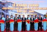 Khánh thành giai đoạn 1, động thổ giai đoạn 2 khu nhà ở xã hội Becamex  Việt - Sing