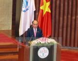 Chủ tịch Quốc hội Nguyễn Sinh Hùng phát biểu khai mạc IPU-132