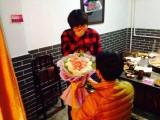 Kết hoa bằng thịt để cầu hôn bạn gái