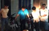 Bắt giữ nhóm trộm xe máy bệnh viện, siêu thị