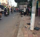 Xe tải gây tai nạn, 3 người thương vong