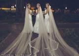 Chị em sinh ba tổ chức đám cưới chung, chú rể hoang mang sợ trao nhầm nhẫn