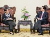 Thủ tướng Nguyễn Tấn Dũng tiếp Bộ trưởng Ngoại giao Indonesia