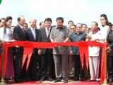 Campuchia khánh thành cầu dây văng xuyên Á