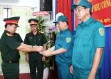 Thành lập Ban Chỉ huy Quân sự Công ty Cổ phần KCN Nam Tân Uyên