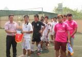 Giải bóng đá Tứ hùng tranh cúp Sacombank lần thứ I: Đội Khách sạn Khải Hoàn đoạt chức vô địch