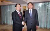 Bộ trưởng Trần Đại Quang dự lễ khánh thành Tổ hợp Interpol toàn cầu