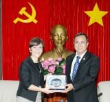 Chủ tịch UBND tỉnh Trần Văn Nam tiếp Tổng Lãnh sự Italia