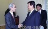 Thủ tướng Nguyễn Tấn Dũng tiếp Chủ tịch Ngân hàng Nhật Bản BTMU