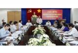 Đoàn Giám sát của Ủy ban Thường vụ Quốc hội làm việc với HĐND tỉnh
