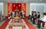 Chủ tịch UBND tỉnh Trần Văn Nam tiếp Tổng lãnh sự Hoa Kỳ tại TP. Hồ Chí Minh