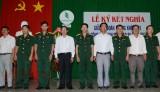Lữ đoàn Phòng không 71: Ký kết nghĩa với Công ty TNHH MTV Cao su Bình Thuận