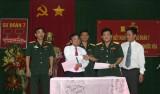 Sư đoàn 7 ký kết nghĩa với Công ty cổ phần Cao su Phước Hòa