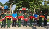 """Đoàn thanh niên Becamex IDC hỗ trợ công trình """"Nhà máy lọc nước tinh khiết"""" phục vụ các chiến sĩ"""