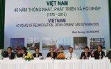 """Hội thảo quốc tế """"Việt Nam - 40 năm thống nhất, phát triển và hội nhập"""""""
