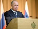 Tổng thống Nga gửi điện chúc mừng 40 năm thống nhất đất nước