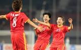 Tuyển nữ Việt Nam hạ Myanmar ở giải vô địch Đông Nam Á