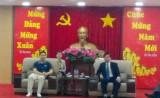 Ông Trần Thanh Liêm, Phó Chủ tịch UBND tỉnh: Tiếp và làm việc với Đoàn doanh nghiệp Phúc Kiến (Trung Quốc)