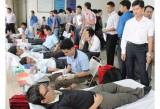 Ngày hội hiến máu tình nguyện đợt 1 thu gần 140 đơn vị máu