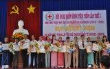 Hội Chữ thập đỏ TX. Thuận An: Tổ chức hội nghị điển hình tiên tiến lần thứ I giai đoạn 2010-2015