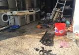 Nổ bình gas cơ sở điện lạnh, 3 người thương vong