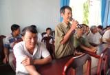 Đoàn đại biểu Quốc hội tỉnh tiếp xúc cử tri huyện Bắc Tân Uyên, Dầu Tiếng, TP.Thủ Dầu Một và Quân đoàn 4