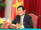 Chủ tịch nước lên đường dự Lễ kỷ niệm 70 năm Chiến thắng Vệ quốc
