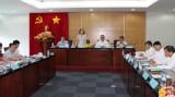 Đoàn công tác của Ban chỉ đạo Trung ương về việc thực hiện Quy chế dân chủ ở cơ sở làm việc với Bình Dương