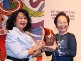 Bà Nguyễn Thị Doan nhận giải thưởng Lãnh đạo nhà nước toàn cầu