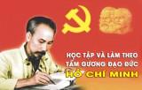 Trao giải Cuộc thi viết về học tập tấm gương đạo đức Hồ Chí Minh