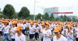 Hơn 4.500 công nhân dệt may tham gia chạy bộ vì an toàn lao động