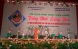 Bình Dương đoạt 1 HCV và 3 HCB tại Liên hoan Tiếng hát làng Sen