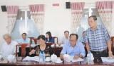 Thị ủy Dĩ An: Lấy ý kiến đóng góp Dự thảo văn kiện Đại hội, Đảng bộ Thị xã lần thứ XI