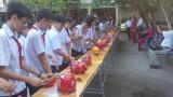 Trường THCS Lê Quý Đôn, TX.Bến Cát: Khui heo đất hỗ trợ học sinh nghèo