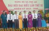 Đảng bộ xã Phú An, TX.Bến Cát: Tổ chức đại hội nhiệm kỳ 2015-2020