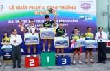 Kết quả chặng 2 giải đua xe đạp truyền hình Bình Dương mở rộng  2015: Quốc Thắng, Cường Khoang và Quốc Huy giành hạng nhất chặng
