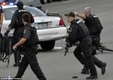 Cảnh sát Mỹ xử lý một món đồ khả nghi gần trụ sở quốc hội