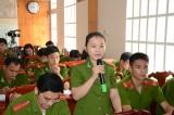 """Cảnh sát PC&CC tỉnh: Tổ chức đối thoại """"Đảng với thanh niên - thanh niên với Đảng"""""""