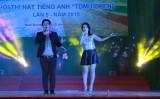 Hội thi hát tiếng Anh: Sân chơi cho học sinh, sinh viên