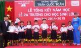 Lotte Mart Bình Dương: Trao 50 suất học bổng cho học sinh khó khăn, học giỏi