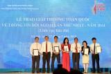 Trao Giải thưởng về thông tin đối ngoại