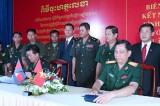 Bộ Chỉ huy Quân sự tỉnh Bình Dương và Tiểu khu Quân sự tỉnh Kandal, Vương quốc Campuchia: Ký kết Quy chế kết nghĩa và Biên bản hợp tác