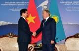 Thủ tướng hội kiến Tổng thống Kazakhstan