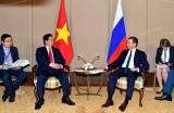 Thủ tướng Nguyễn Tấn Dũng gặp Thủ tướng Nga Dmitry Medvedev