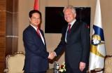 Thủ tướng gặp Chủ tịch Ban Thường trực Ủy ban Kinh tế Á-Âu