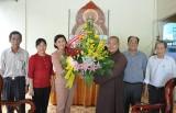 Lãnh đạo huyện Bàu Bàng, TX.Thuận An: Thăm, chúc mừng các cơ sở Phật giáo nhân dịp lễ Phật đản Phật lịch 2559