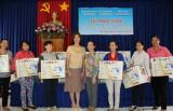 Công ty TNHH Zeng Hsing Industrial: Tặng 50 máy may cho phụ nữ nghèo