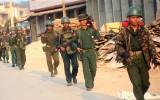 Trung Quốc rầm rộ tập trận bắn đạn thật sát biên giới Myanmar