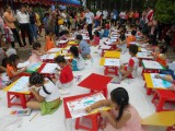 Bàu Bàng: Tổ chức giải thưởng mỹ thuật thiếu nhi lần thứ I năm 2015